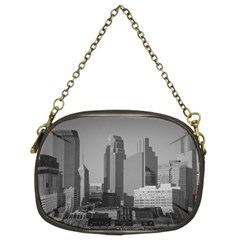 Minneapolis Minnesota Skyline Chain Purses (two Sides)