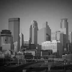 Minneapolis Minnesota Skyline Magic Photo Cubes