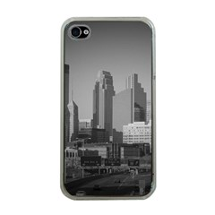 Minneapolis Minnesota Skyline Apple Iphone 4 Case (clear)