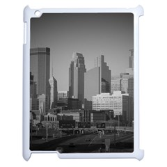 Minneapolis Minnesota Skyline Apple Ipad 2 Case (white) by BangZart