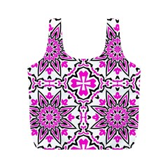Oriental Pattern Full Print Recycle Bags (m)  by BangZart