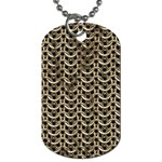 Sparkling Metal Chains 01a Dog Tag (One Side) Front