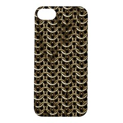 Sparkling Metal Chains 01a Apple Iphone 5s/ Se Hardshell Case by MoreColorsinLife