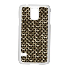 Sparkling Metal Chains 01a Samsung Galaxy S5 Case (white) by MoreColorsinLife