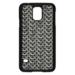 Sparkling Metal Chains 01b Samsung Galaxy S5 Case (black) by MoreColorsinLife