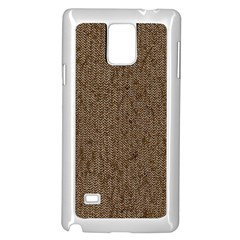 Sparkling Metal Chains 02a Samsung Galaxy Note 4 Case (white) by MoreColorsinLife