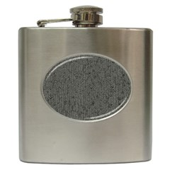 Sparkling Metal Chains 02b Hip Flask (6 Oz) by MoreColorsinLife
