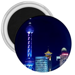 Shanghai Oriental Pearl Tv Tower 3  Magnets