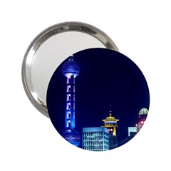 Shanghai Oriental Pearl Tv Tower 2 25  Handbag Mirrors