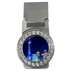 Shanghai Oriental Pearl Tv Tower Money Clips (cz)