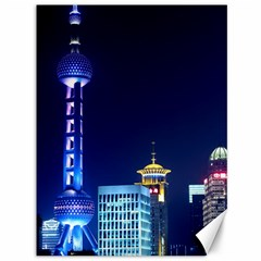 Shanghai Oriental Pearl Tv Tower Canvas 36  X 48   by BangZart