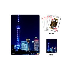 Shanghai Oriental Pearl Tv Tower Playing Cards (mini)