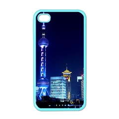 Shanghai Oriental Pearl Tv Tower Apple Iphone 4 Case (color)