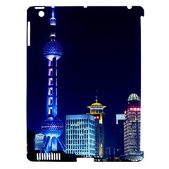 Shanghai Oriental Pearl Tv Tower Apple Ipad 3/4 Hardshell Case (compatible With Smart Cover) by BangZart
