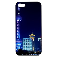 Shanghai Oriental Pearl Tv Tower Apple Iphone 5 Hardshell Case by BangZart