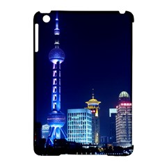 Shanghai Oriental Pearl Tv Tower Apple Ipad Mini Hardshell Case (compatible With Smart Cover) by BangZart