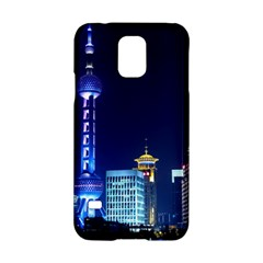 Shanghai Oriental Pearl Tv Tower Samsung Galaxy S5 Hardshell Case  by BangZart