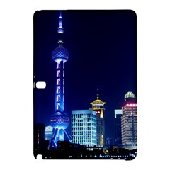 Shanghai Oriental Pearl Tv Tower Samsung Galaxy Tab Pro 10 1 Hardshell Case by BangZart