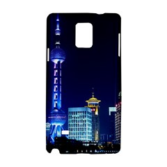 Shanghai Oriental Pearl Tv Tower Samsung Galaxy Note 4 Hardshell Case by BangZart