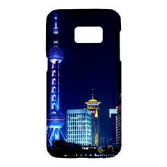 Shanghai Oriental Pearl Tv Tower Samsung Galaxy S7 Hardshell Case  by BangZart