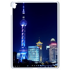 Shanghai Oriental Pearl Tv Tower Apple Ipad Pro 9 7   White Seamless Case by BangZart