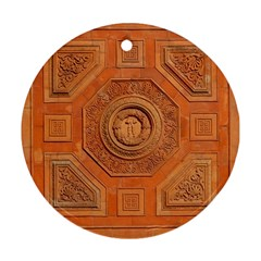 Symbolism Paneling Oriental Ornament Pattern Ornament (round)