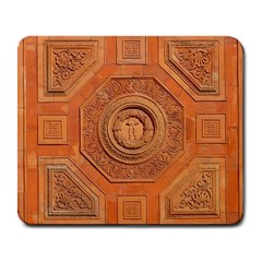 Symbolism Paneling Oriental Ornament Pattern Large Mousepads by BangZart