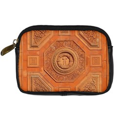 Symbolism Paneling Oriental Ornament Pattern Digital Camera Cases by BangZart