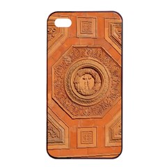 Symbolism Paneling Oriental Ornament Pattern Apple Iphone 4/4s Seamless Case (black) by BangZart