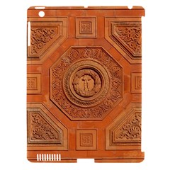 Symbolism Paneling Oriental Ornament Pattern Apple Ipad 3/4 Hardshell Case (compatible With Smart Cover) by BangZart