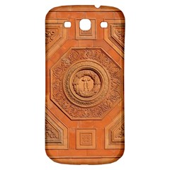Symbolism Paneling Oriental Ornament Pattern Samsung Galaxy S3 S Iii Classic Hardshell Back Case by BangZart