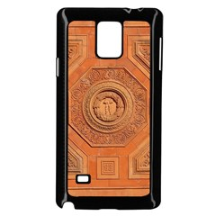 Symbolism Paneling Oriental Ornament Pattern Samsung Galaxy Note 4 Case (black)