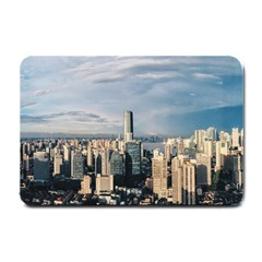 Shanghai The Window Sunny Days City Small Doormat  by BangZart