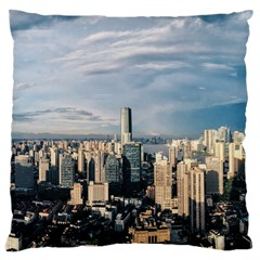 Shanghai The Window Sunny Days City Large Cushion Case (two Sides)