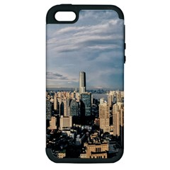 Shanghai The Window Sunny Days City Apple Iphone 5 Hardshell Case (pc+silicone) by BangZart