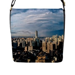 Shanghai The Window Sunny Days City Flap Messenger Bag (l)