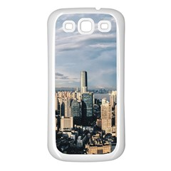 Shanghai The Window Sunny Days City Samsung Galaxy S3 Back Case (white) by BangZart