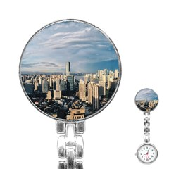 Shanghai The Window Sunny Days City Stainless Steel Nurses Watch by BangZart