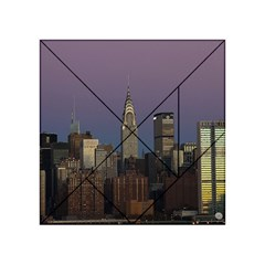 Skyline City Manhattan New York Acrylic Tangram Puzzle (4  X 4 )