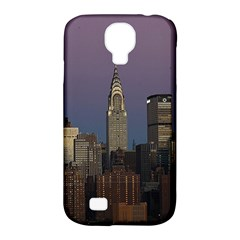 Skyline City Manhattan New York Samsung Galaxy S4 Classic Hardshell Case (pc+silicone) by BangZart
