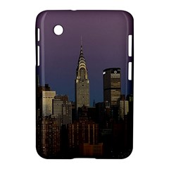Skyline City Manhattan New York Samsung Galaxy Tab 2 (7 ) P3100 Hardshell Case