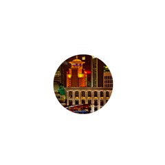 Shanghai Skyline Architecture 1  Mini Buttons by BangZart