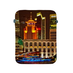 Shanghai Skyline Architecture Apple Ipad 2/3/4 Protective Soft Cases by BangZart