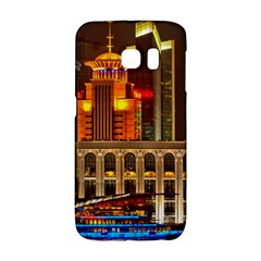 Shanghai Skyline Architecture Galaxy S6 Edge by BangZart