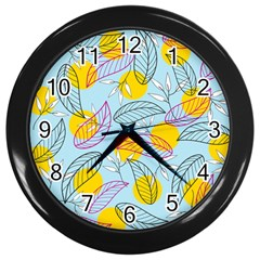 Playful Mood I Wall Clocks (black) by allgirls