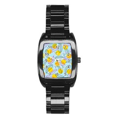Playful Mood I Stainless Steel Barrel Watch by allgirls