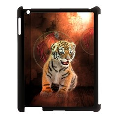 Cute Little Tiger Baby Apple Ipad 3/4 Case (black) by FantasyWorld7