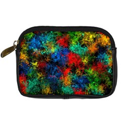 Squiggly Abstract A Digital Camera Cases by MoreColorsinLife