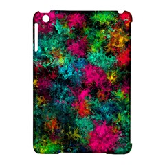 Squiggly Abstract B Apple Ipad Mini Hardshell Case (compatible With Smart Cover) by MoreColorsinLife