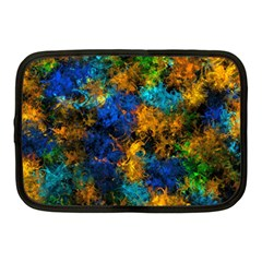 Squiggly Abstract C Netbook Case (medium)  by MoreColorsinLife